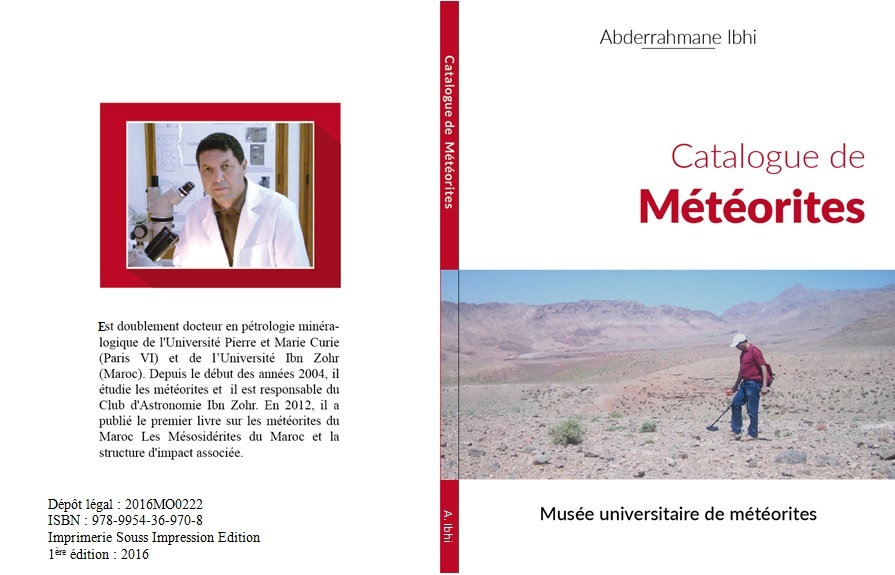 New Catalogue of Moroccan meteorites
