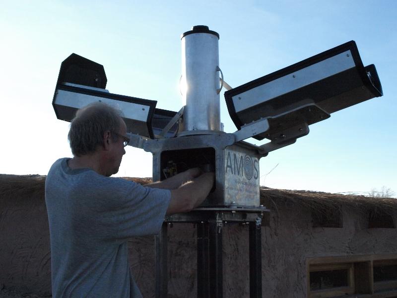 Installation of AMOS in Chile (P. Zigo).