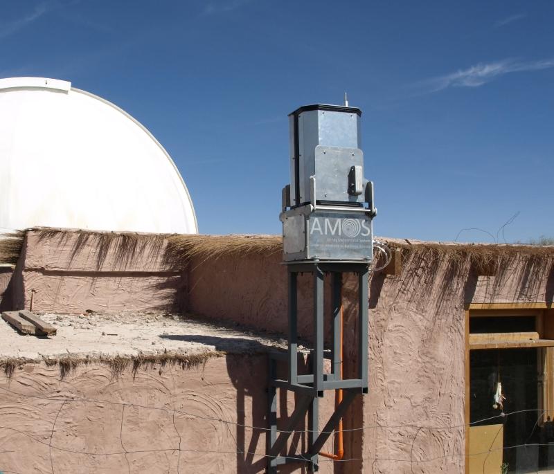 Installed AMOS in Paniri Caur Observatory.