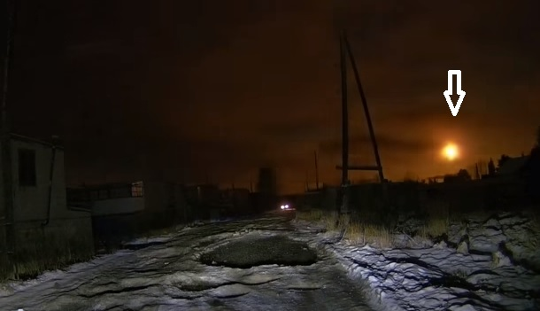 Fireball seen at Murmansk and Northern Finland