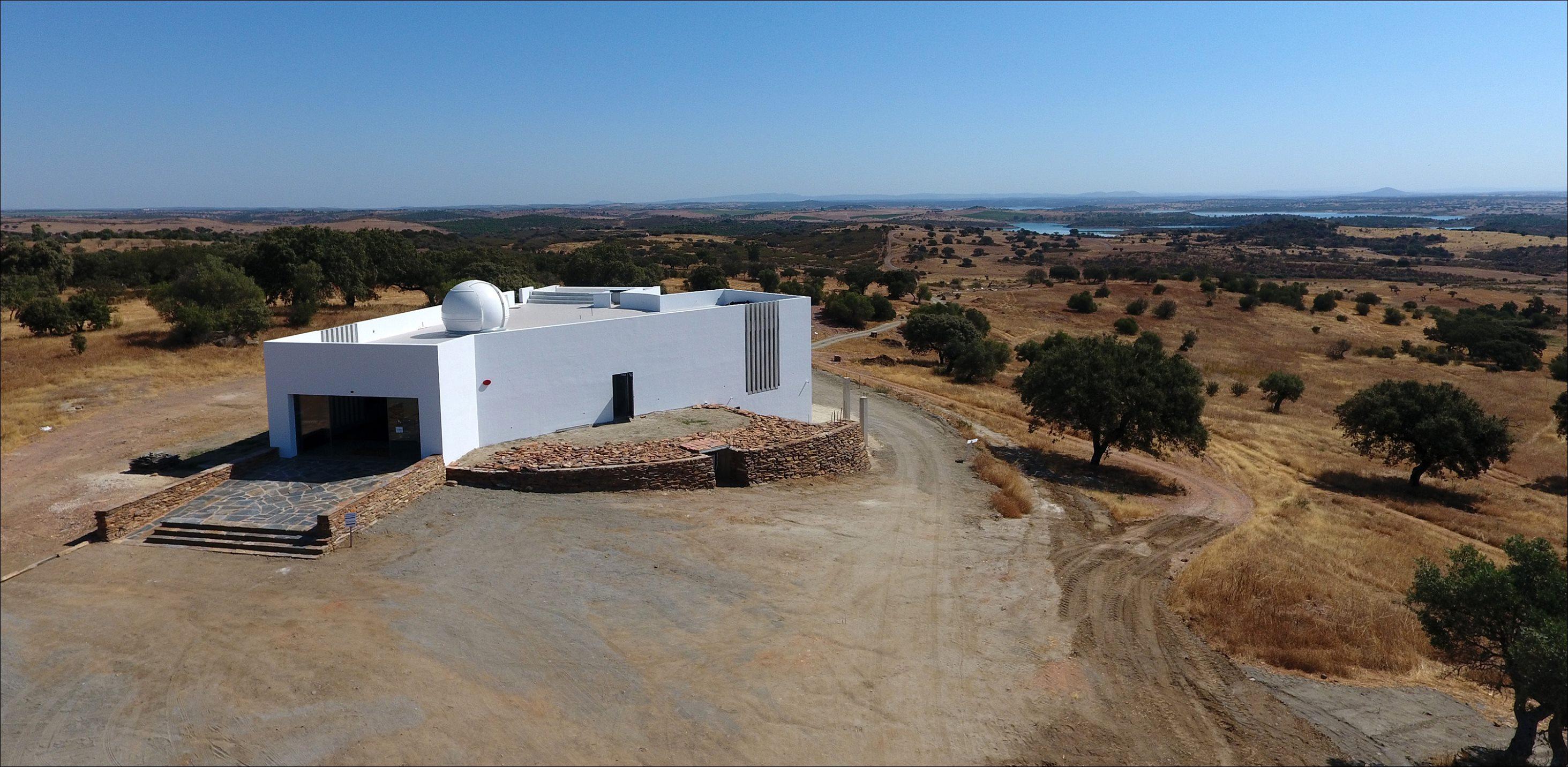PMN-Portuguese Meteor Network and OLA-Observatório do Lago Alqueva agreement