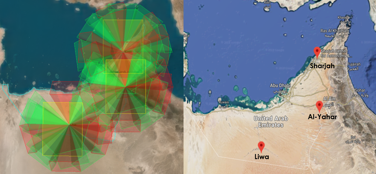 The UAEMMN: A prominent meteor monitoring system in the Gulf Region
