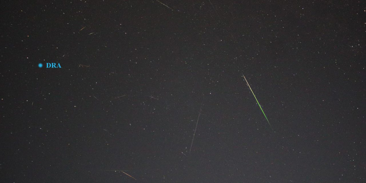 Draconids video results on 08 Oct 2019