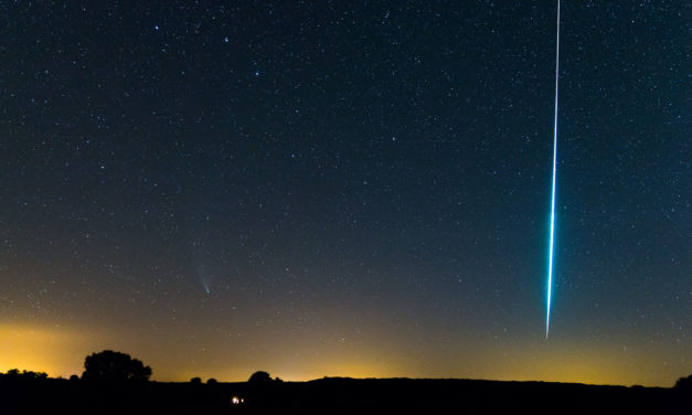 Once upon a time, we had a comet and a fireball