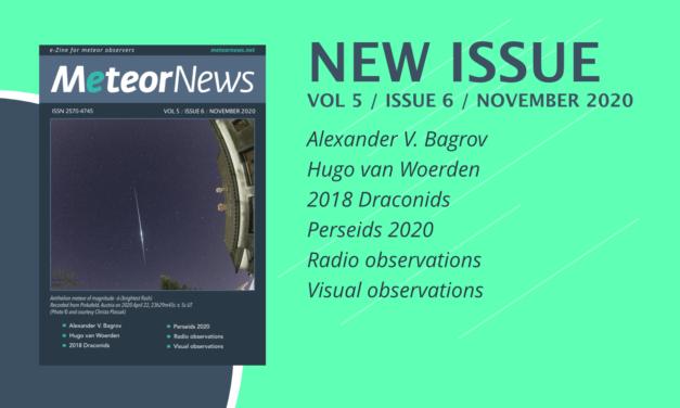 November issue of eMeteorNews online