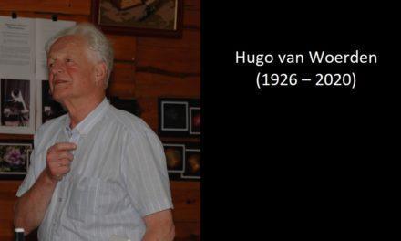 In memoriam Hugo van Woerden (1926 – 2020)