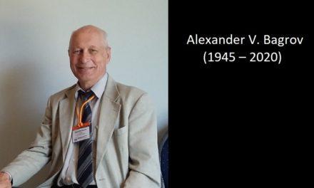 Obituary Alexander V. Bagrov (1945 – 2020)