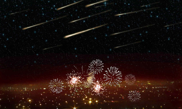 Return of Volantid meteor shower, expected to peak on New Year's Eve