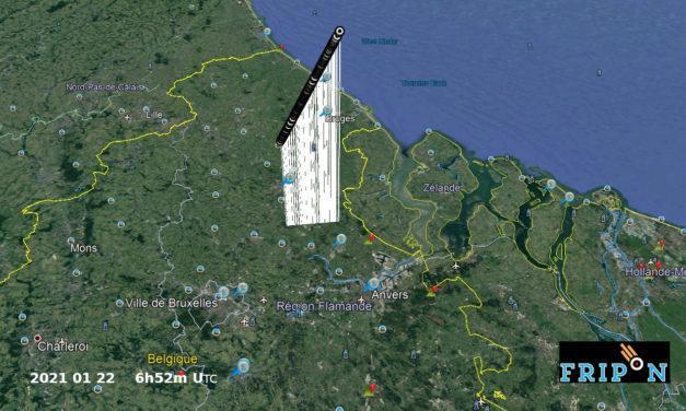 Fireball of 2021 January 22 above Belgium