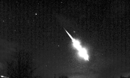 Stunning fireball over Madrid on January 21