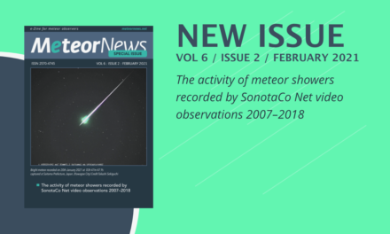 February 2021 (special) issue of eMeteorNews online